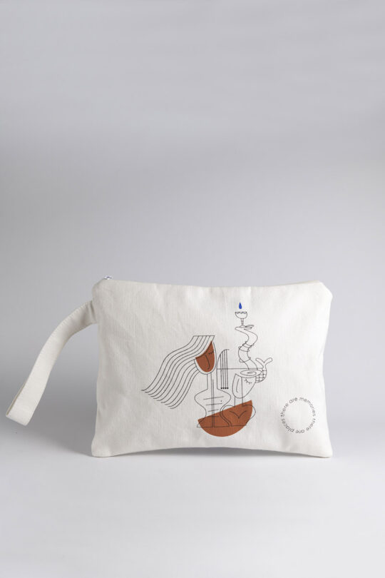 Handmade large pouch 127
