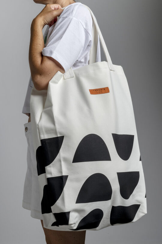 Large handmade tote bag 153