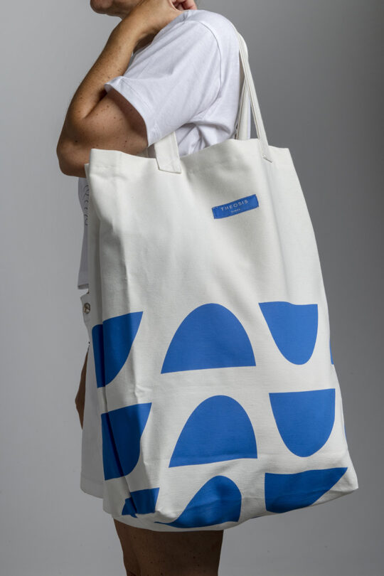 Large handmade tote bag 154