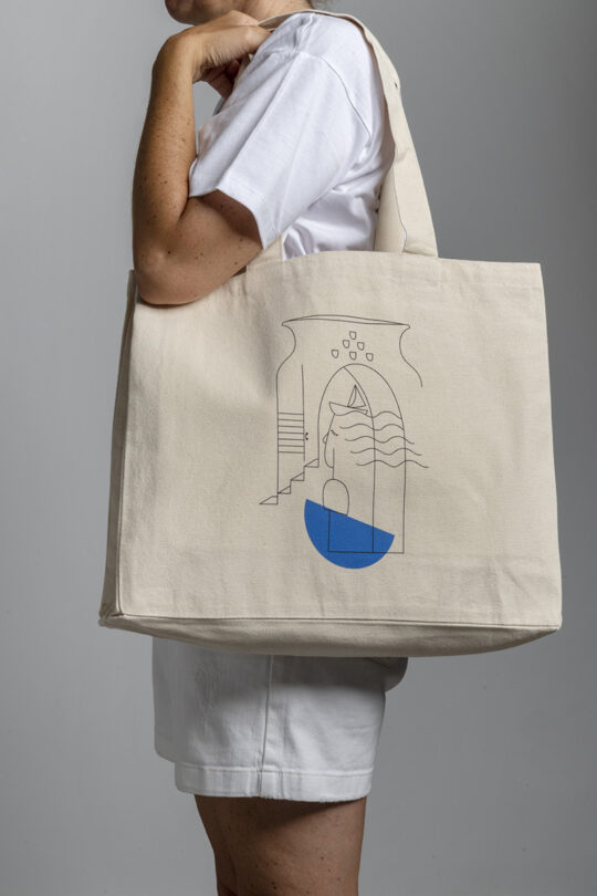 Large street tote bag 156