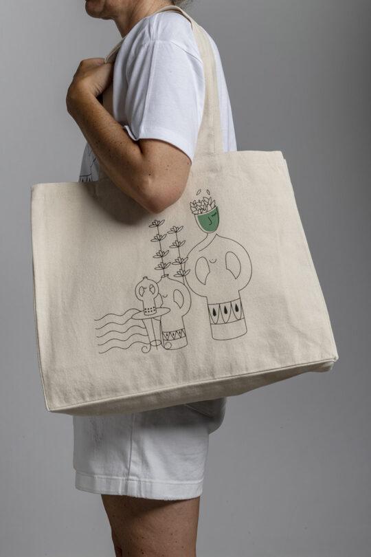 Large street tote bag 157