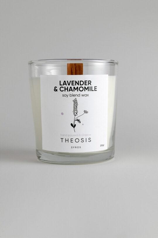 candle lavender chamomile
