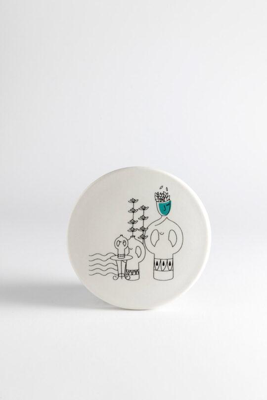 ceramic coaster 16