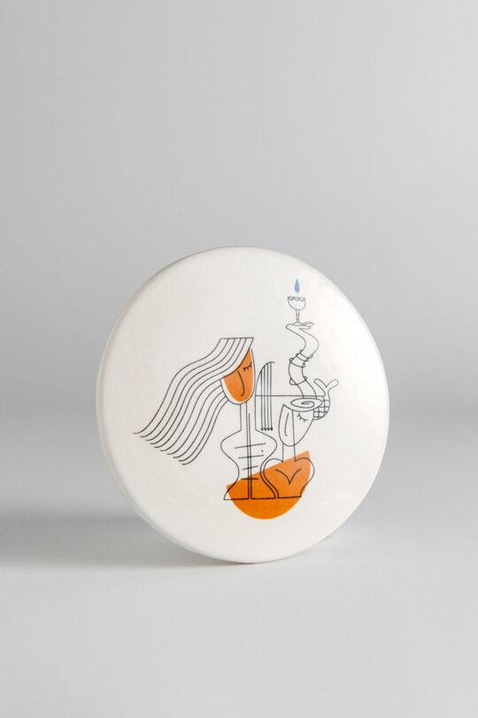 ceramic coaster 8