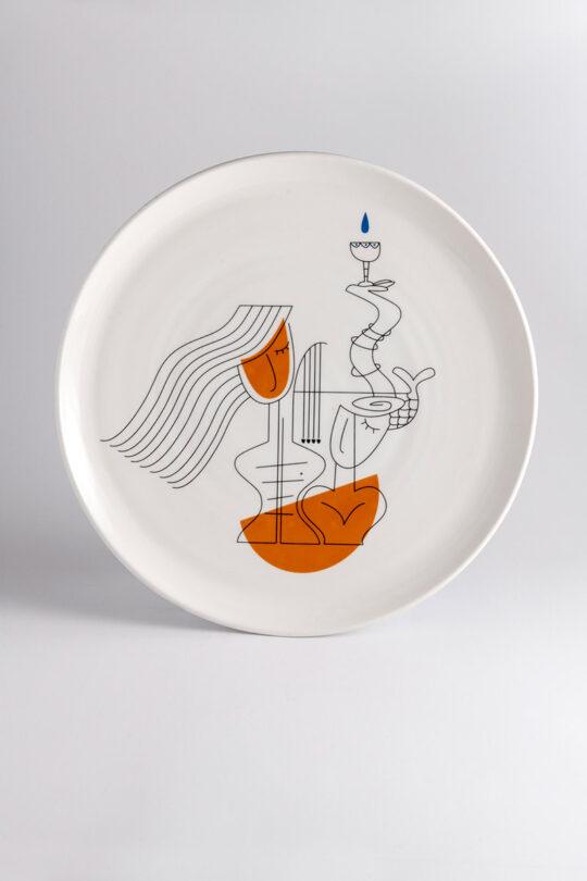 ceramic plate 10