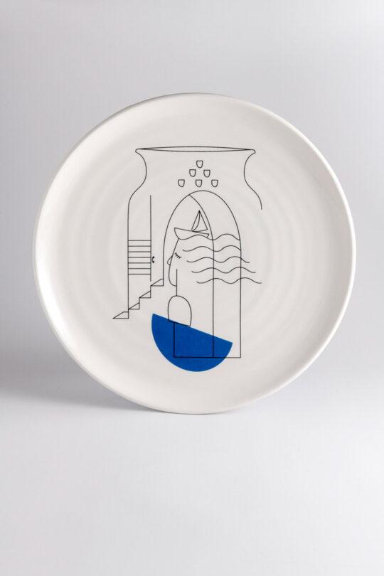 ceramic plate 11