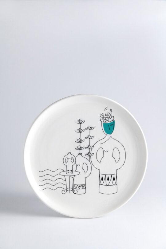 ceramic plate 3