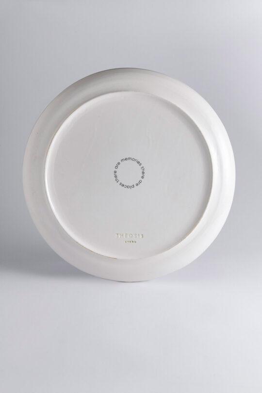 ceramic plate 9