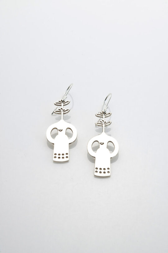 silver earing 3